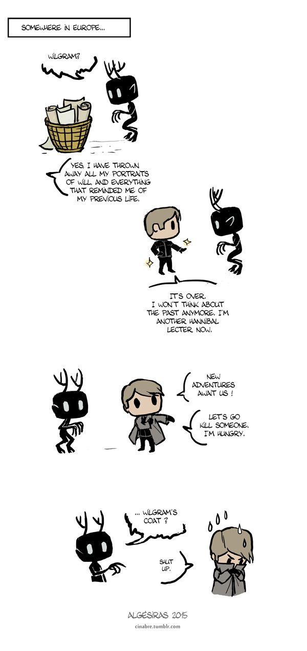 Pet Wendigo strip 8 - Coat by Algesiras.deviantart.com on @DeviantArt