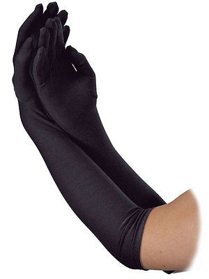 Long #black #1920s style flapper show girl charleston #gloves fancy dress accesso,  View more on the LINK: 	http://www.zeppy.io/product/gb/2/201373475394/