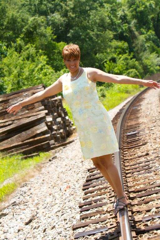 """Train Tracks"" by Portraits Creations photography studio in South Charlotte, NC."