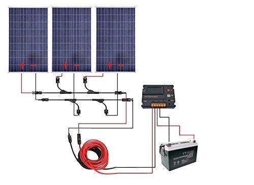 ECO-WORTHY 300 Watt Solar System   Solar panels batteries
