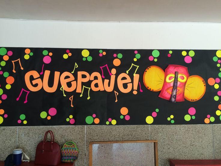 Carnaval de Barranquilla Bulletin board carnival bulletin board marimonda bulletin board guapaje decoración de carnaval en nuestra escuela
