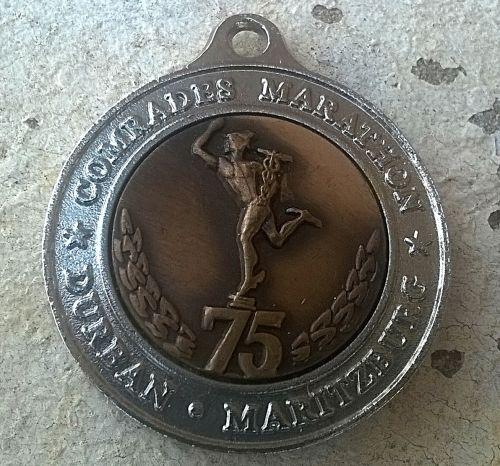 Buy Rare & Original,  75th Year Comrades Marathon Millennium Medal.for R100.00