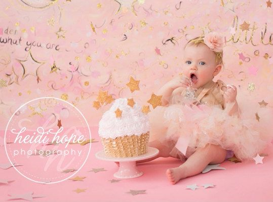 Baby Girls Birthday Tutu Dress Outfit, Christmas Toys, Pretty Pink Twinkle Tutu Dress, Baby Girls 1st Birthday and Cake Smash
