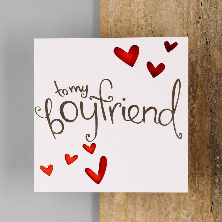 1000+ Ideas About Boyfriend Card On Pinterest
