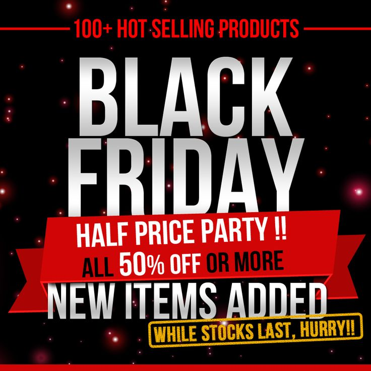 Black Friday Steal - 50%+ off Everything Inside! #BlackFriday #discount