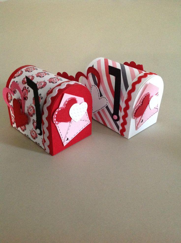 Buzones para san valentin cajitas con dulces pinterest - Dulces de san valentin ...