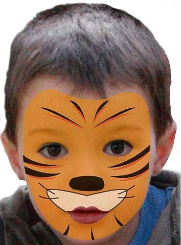 die 25 besten ideen zu tiger schminken auf pinterest tigerkost m kinderschminken tiger und. Black Bedroom Furniture Sets. Home Design Ideas