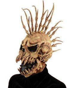 skull monster head halloween mask halloween costume
