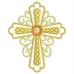 Heirloom Crosses machine embroidery designs