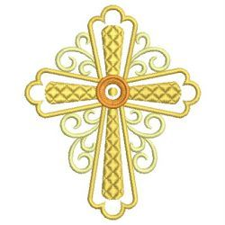 Heirloom Crosses machine embroidery designs