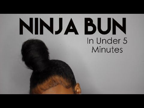 Ninja Bun Tutorial