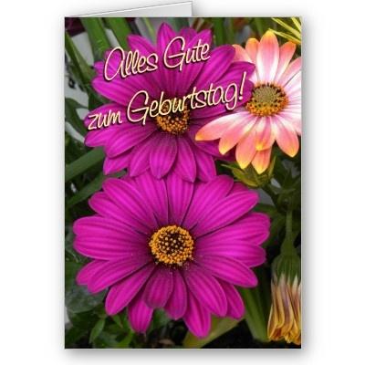 De 32 beste bildene om German Birthday Cards p Pinterest – Birthday Card in German