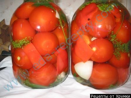 Квашеные помидоры в банках на зиму