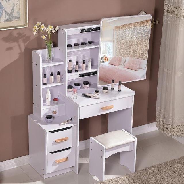 Bedroom Furniture Devoted Solid Wood Desktop Storage Box Study Study Table Storage Box Bedroom Wooden Multifunctional Drawer Box Cosmetic Storage Box Home Furniture