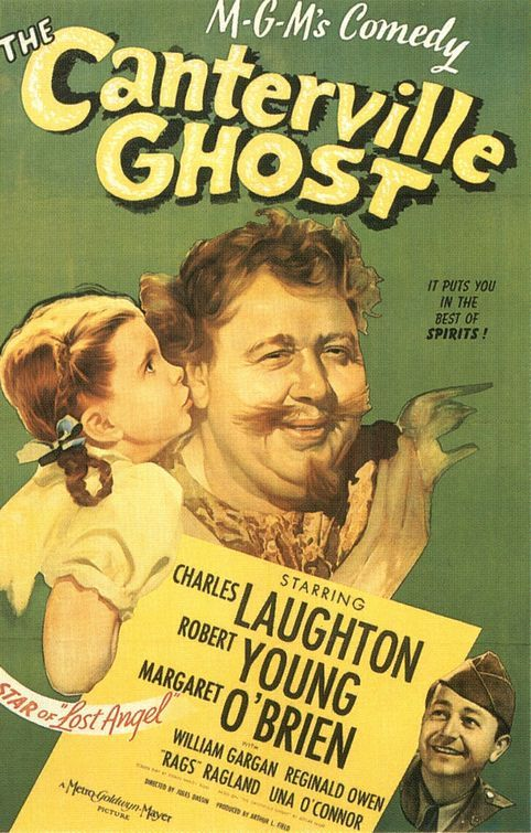 """""""Charles Laughton gives a great comedic performance as the ghost in this movie. It's just fun to watch!"""" - Library Assistant Lisa Mueller"""