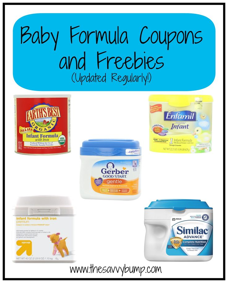 Here is a long list of baby formula coupons and ways to get free formula for your baby! The list is updated frequently and is sure to save you money.