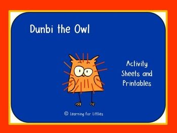 Teaching activities for the Aboriginal Dreamtime story, Dunbi the Owl. Perfect for NAIDOC Week activities.
