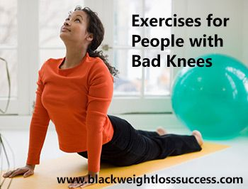 6 Exercise Options for People with Bad Knees | Black Weight Loss Success