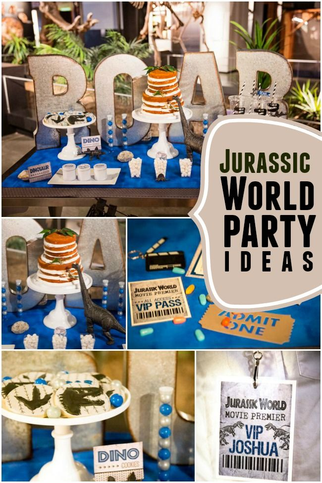 A Jurassic World Inspired Dinosaur Party - Spaceships and Laser Beams