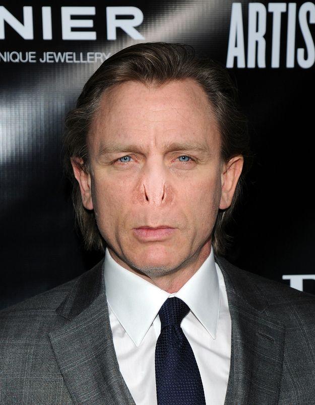 Daniel Craig. | 13 Celebrities With Voldemort's Nose