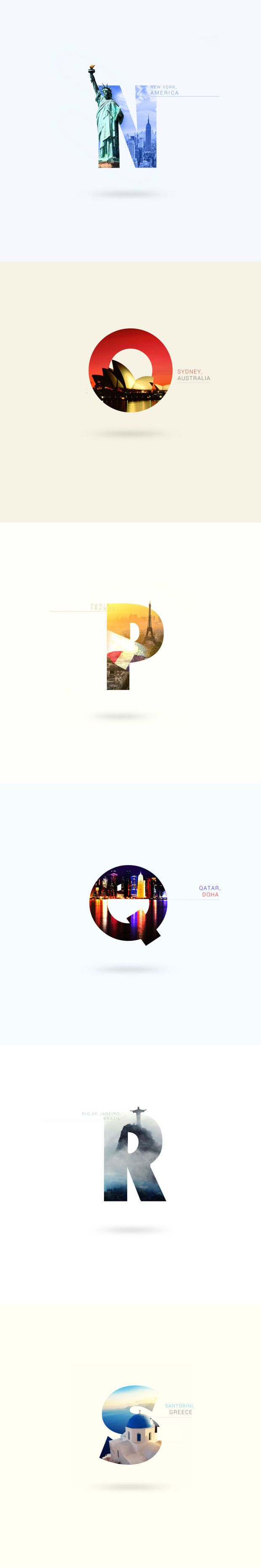 Travel Around The World With This Beautifully Designed Visual Alphabet - UltraLinx