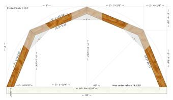 Best 25 pole barn trusses ideas on pinterest roof truss for Gambrel roof truss prices