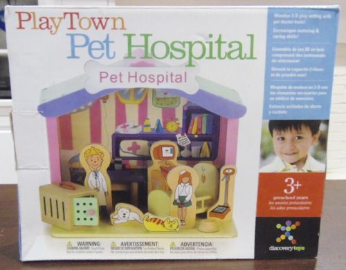 Discovery-Toys-Play-Town-Pet-Hospital-3D-Play-Setting