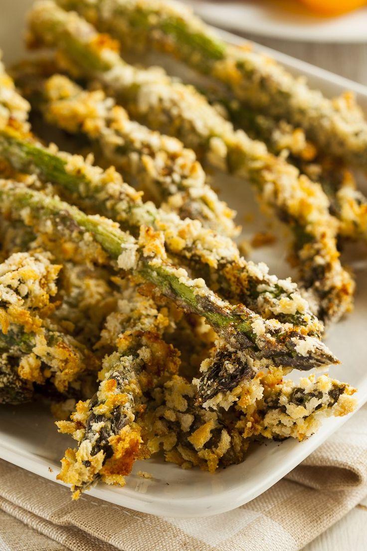 Baked Parmesan Asparagus Fries Recipe
