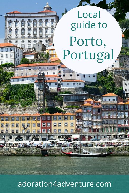 Adoration 4 adventure's local guide for visitors to Porto, Portugal including top places to eat, drink, stay, and how to get around on a budget.