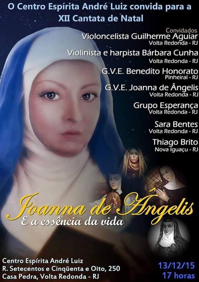 O Centro Espírita André Luiz Convida para a sua XII Cantata de Natal - Volta Redonda - RJ - http://www.agendaespiritabrasil.com.br/2015/12/07/o-centro-espirita-andre-luiz-convida-para-a-sua-xii-cantata-de-natal-volta-redonda-rj/