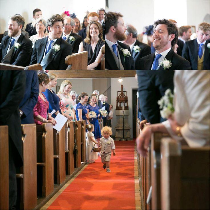 aldeburgh wedding photography, groom waiting at church