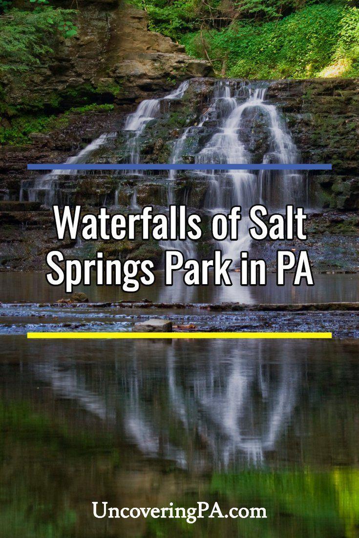 Pennsylvania Waterfalls The Falls of Salt Springs