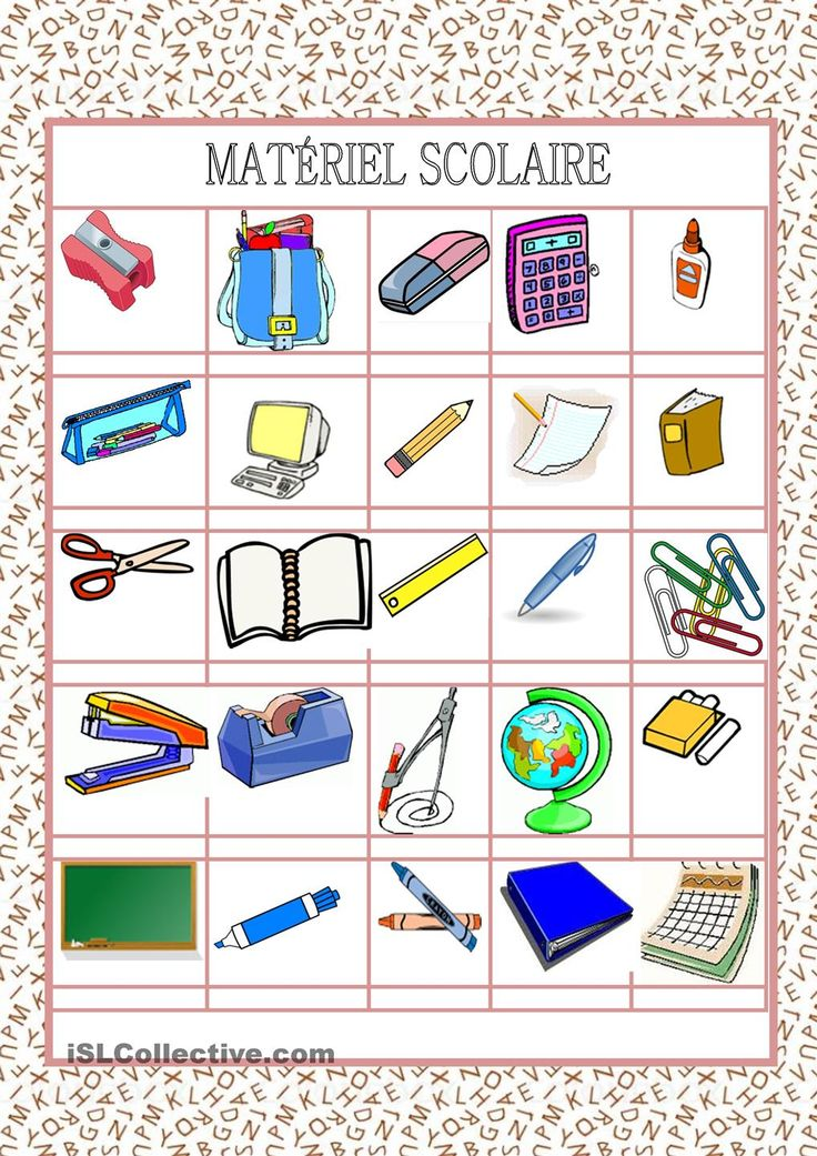 English In Italian: 1000+ Images About FLE: École On Pinterest