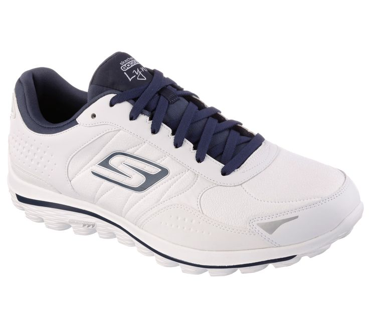 Energize your game with the Skechers GOwalk 2 Golf - Lynx featuring GOga Mat Technology with high-rebound cushioning.  Designed with advanced Skechers Performance technology and materials specifically for walking and golf.  Leather, fabric and synthetic upper is water resistant.