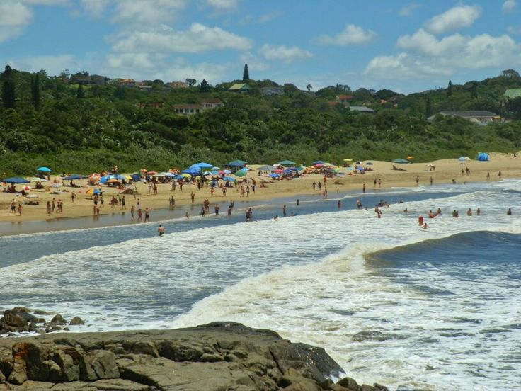Port Edward, Kwazulu-Natal, South Africa. Beach vibes