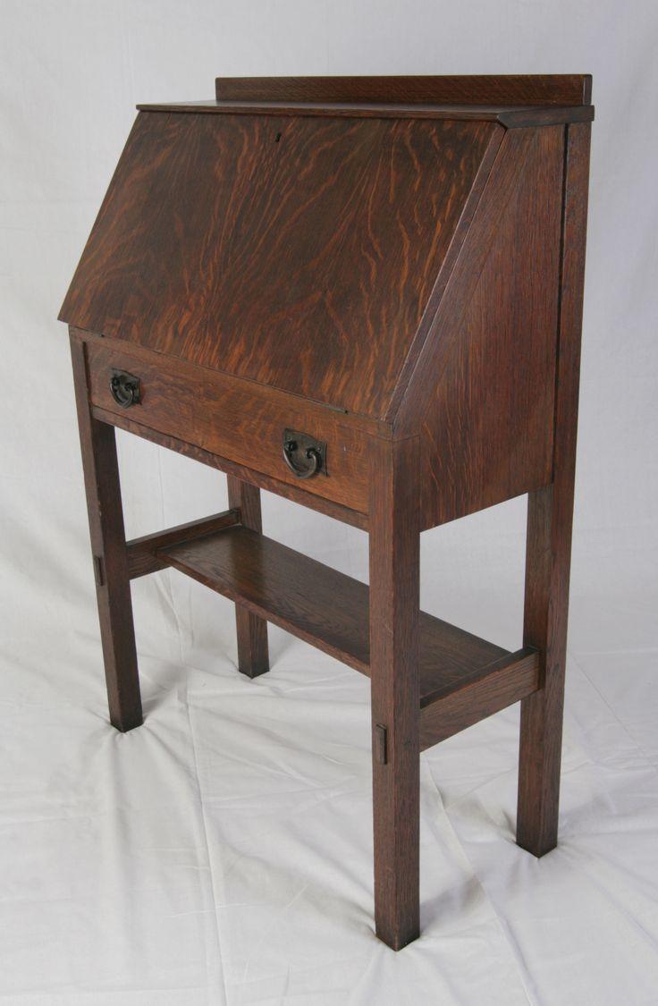 Stickley Drop Front Desk Plans Woodworking Projects Amp Plans