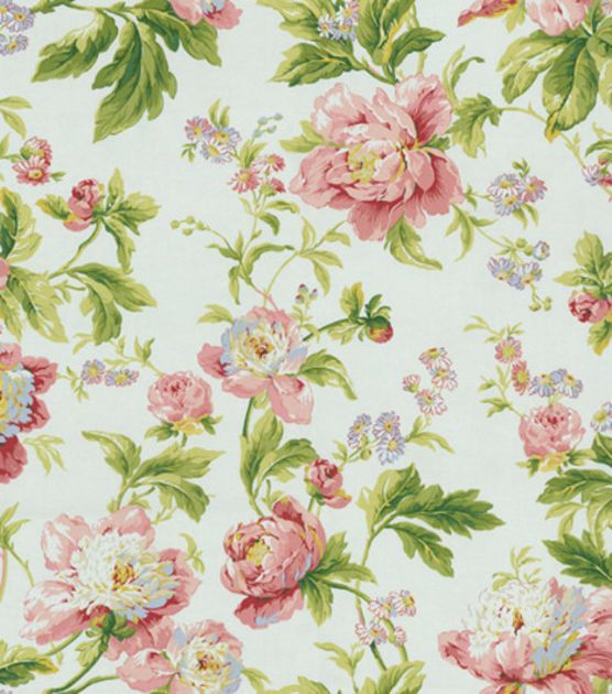 home decor fabric waverly remember when forever yours spring - Home Decor Fabric