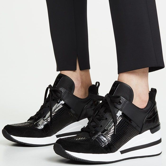 Statistical Opaque correct  5 Best Michael Kors Wedge Sneakers and Trainers for Women | Michael kors  wedge sneakers, Michael kors wedges, Wedge sneakers