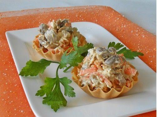 Идеальный салат «Фуршет» Со стола сметается в первую очередь! Все гости будут в…