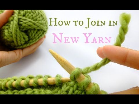 CreatiKnit | At the end of your skein? Learn how to Join New Yarn…without becoming unraveled!