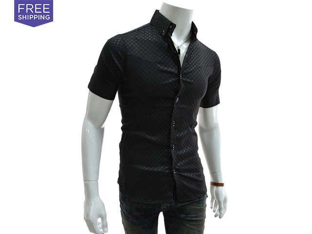 LivingSocial Shop: Men's Takifugu-Print Button-Down Shirt - 2 Color Options