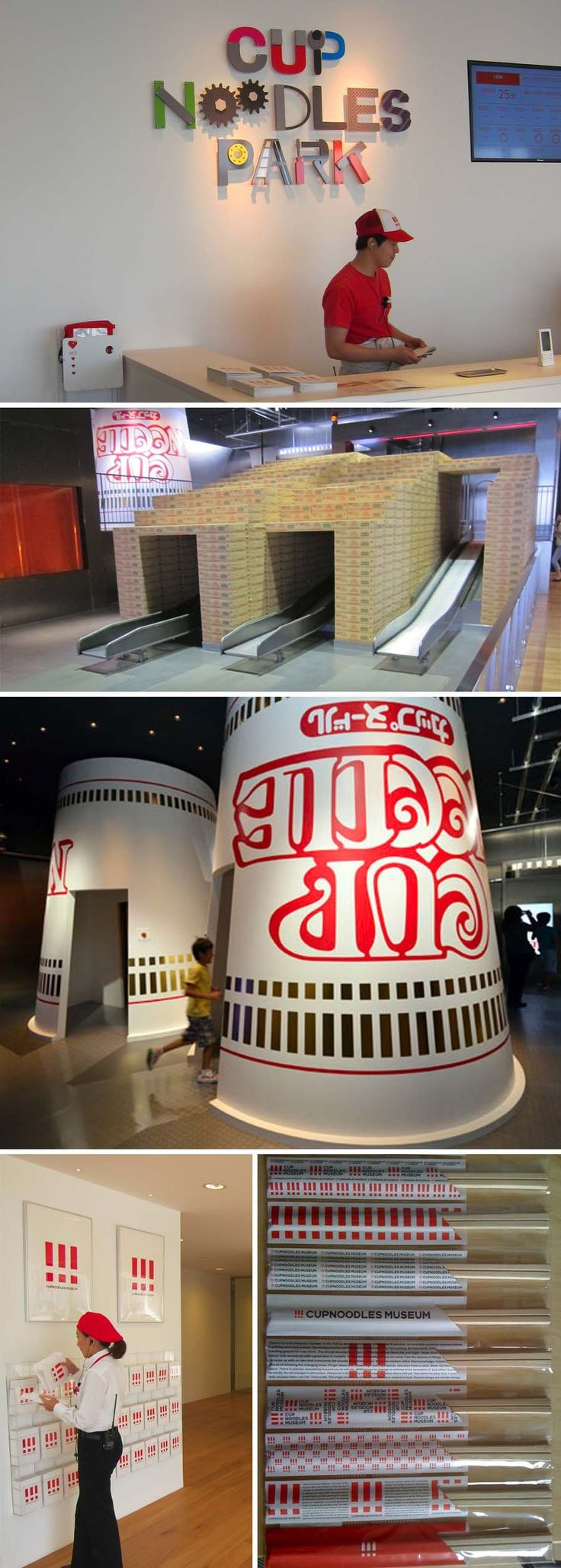 Cup Noodles Museum, fun, interactive museum in Yokohama, Japan, make your own cup noodles, factory, park, museum, history, momofuku ando