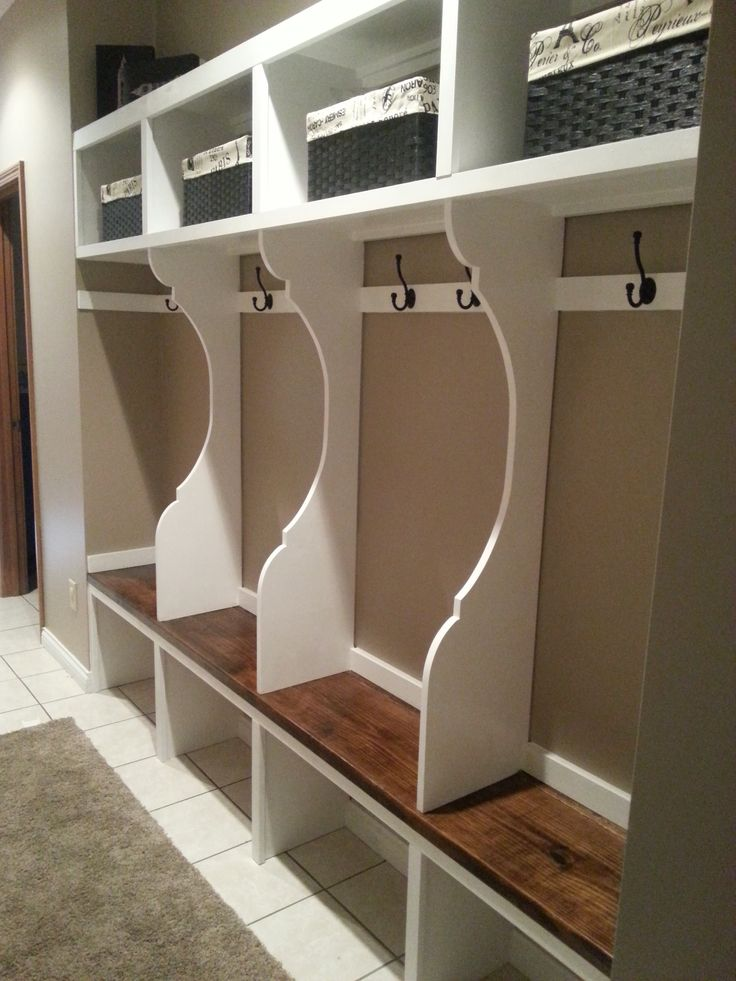 Best 25 garage lockers ideas on pinterest mud room in garage mudroom locker system do it yourself home projects from ana white i like how the solutioingenieria Choice Image