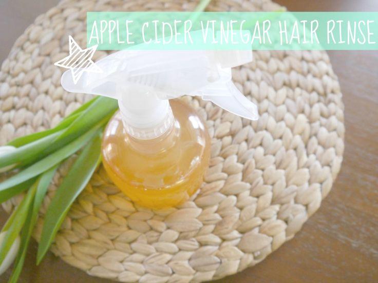 Apple Cider Vinegar Hair Rinse