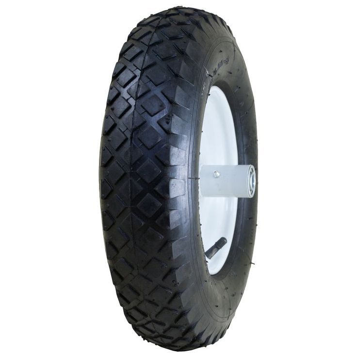 Marathon 20047 Pneumatic Knobby Tread Wheelbarrow Tire - 1352-1299