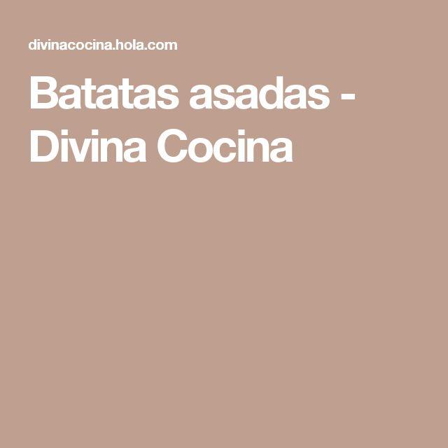 Batatas asadas - Divina Cocina