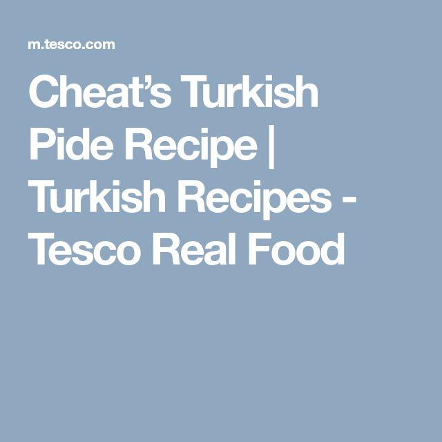 Cheat's Turkish Pide Recipe | Turkish Recipes - Tesco Real Food