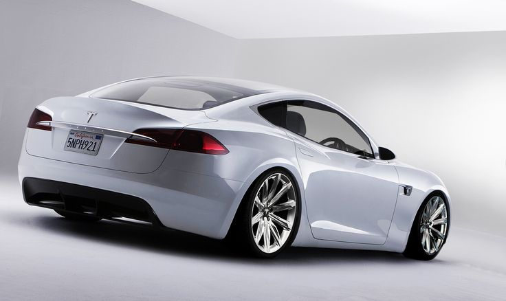 Tesla Model S Coupe.