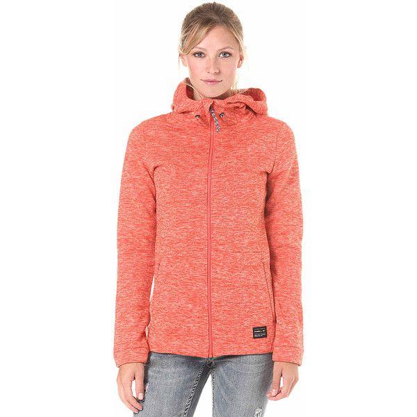 O'Neill Hoody Fleece Kapuzenjacke für Damen Orange ($11) ❤ liked on Polyvore featuring tops, hoodies, fleece hooded sweatshirt, galaxy hoodie, sport hoodie, nebula hoodie and fleece hoodie
