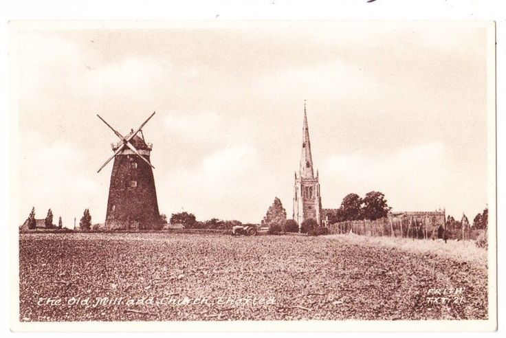 Early Postcards, Essex ,Thaxted, The Old Mill And Church , Nice View, | eBay